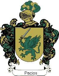 Escudo del apellido Pacios