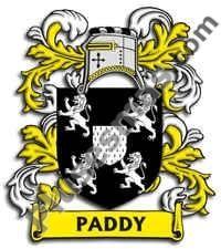 Escudo del apellido Paddy