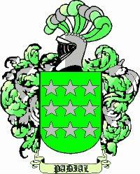 Escudo del apellido Padial