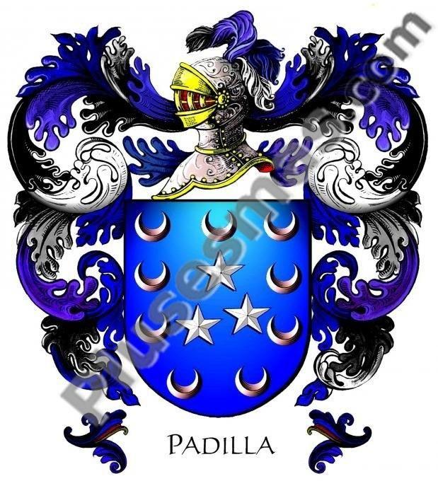 Escudo del apellido Padilla