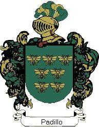 Escudo del apellido Padillo