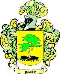 Escudo del apellido Padin