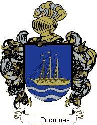 Escudo del apellido Padrones