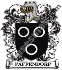 Escudo del apellido Paffendorp