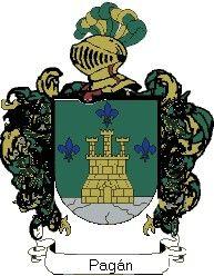 Escudo del apellido Pagán