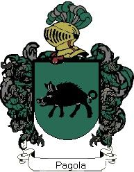 Escudo del apellido Pagola