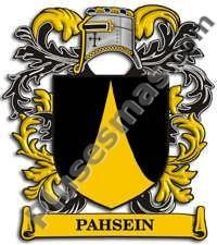 Escudo del apellido Pahsein