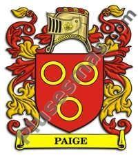 Escudo del apellido Paige