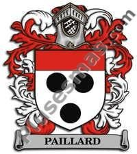 Escudo del apellido Paillard
