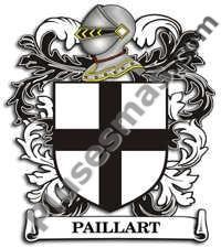 Escudo del apellido Paillart