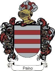 Escudo del apellido Paíno