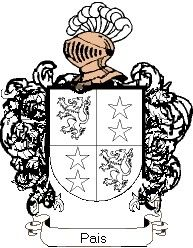 Escudo del apellido Pais