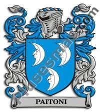 Escudo del apellido Paitoni