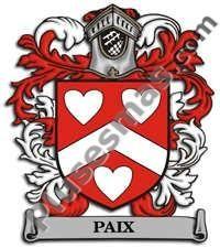 Escudo del apellido Paix