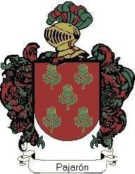 Escudo del apellido Pajarón