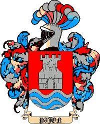 Escudo del apellido Pajón