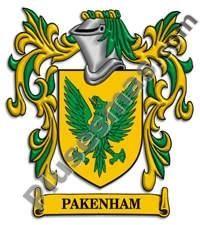 Escudo del apellido Pakenham