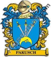 Escudo del apellido Pakusch