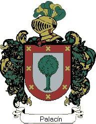 Escudo del apellido Palacín