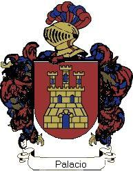 Escudo del apellido Palacio