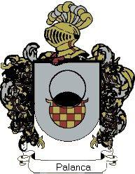 Escudo del apellido Palanca