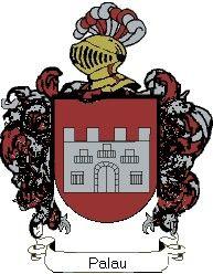 Escudo del apellido Palau