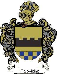 Escudo del apellido Palavicino