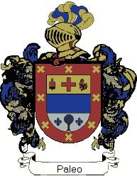 Escudo del apellido Paleo