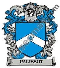 Escudo del apellido Palissot
