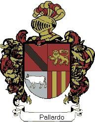 Escudo del apellido Pallardo