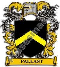 Escudo del apellido Pallast
