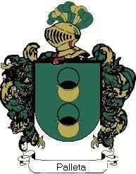 Escudo del apellido Palleta
