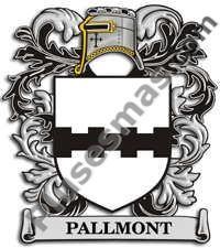 Escudo del apellido Pallmont