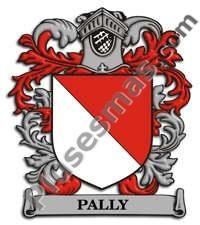Escudo del apellido Pally