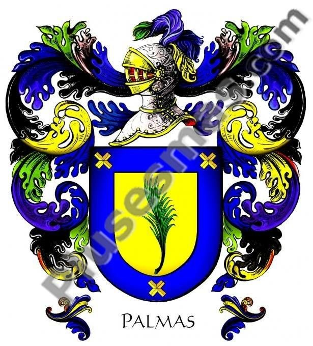 Escudo del apellido Palmas