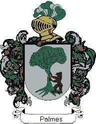Escudo del apellido Palmes