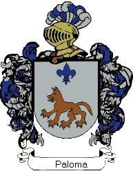 Escudo del apellido Paloma