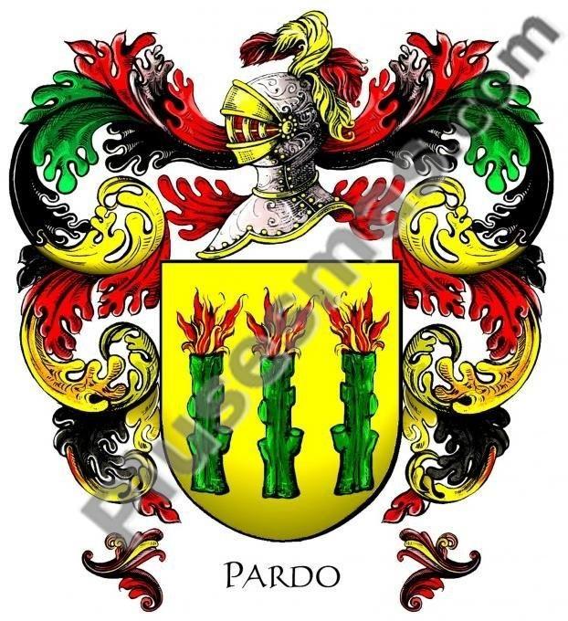 Escudo del apellido Pardo