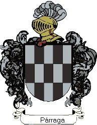 Escudo del apellido Párraga