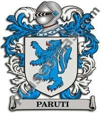 Escudo del apellido Paruti