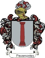 Escudo del apellido Pasamontes