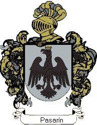 Escudo del apellido Pasarín