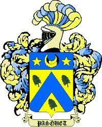 Escudo del apellido Pasquet
