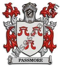 Escudo del apellido Passmore