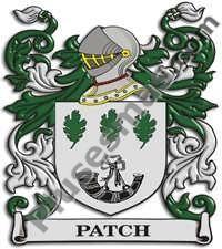 Escudo del apellido Patch