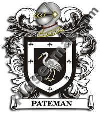 Escudo del apellido Pateman