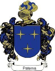 Escudo del apellido Paterna