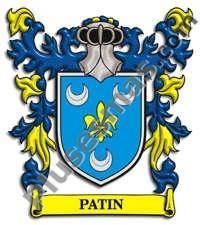 Escudo del apellido Patin