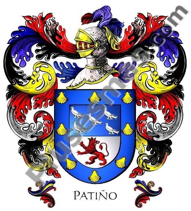 Escudo del apellido Patiño