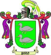 Escudo del apellido Pato